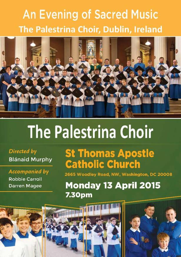 Palestrina Choir at STA