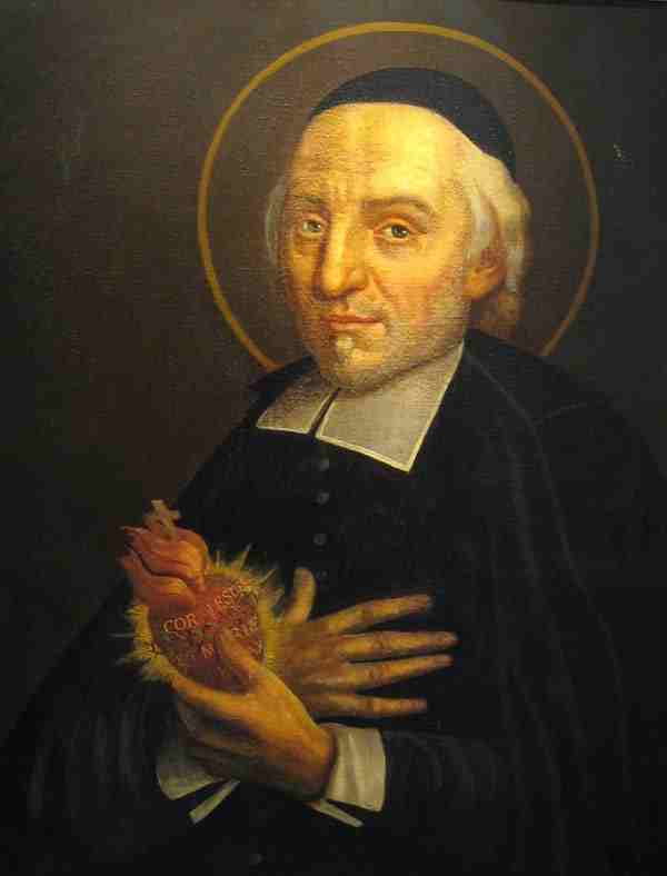 St. Jean Eudes, to whom Saint Benedict Center's Religious, laity, and friends are praying to find a priest